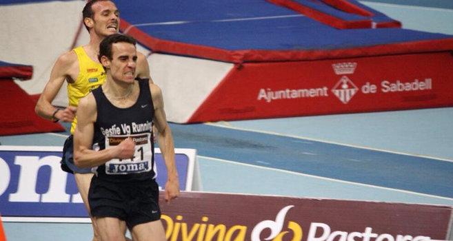 Víctor García y su club, Gesfíe VG Running, Campeones de España de Atletismo en pista cubierta