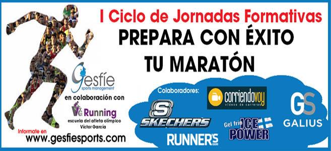 Victor García y Gesfíe Sports ponen en marcha las Primeras Jornadas de preparación para el maratón