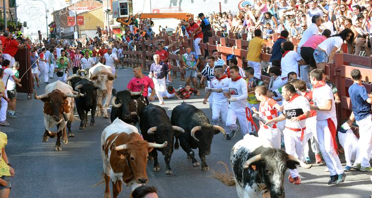 Emocionante cuarto encierro en San Sebasti�n de los Reyes