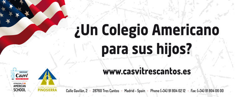 Eurocolegio Casvi Pinosierra - Tres Cantos abre su plazo de matrículas