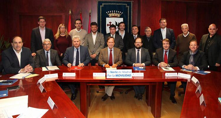 Los alcaldes se reúnen para proponer una respuesta integral que solucione los accesos y la movilidad en la zona Norte de Madrid