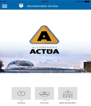 Nueva APP �Alcobendas Act�a�