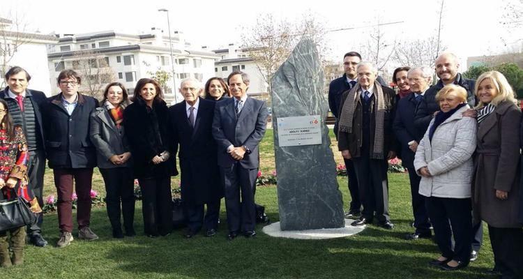 Alcobendas homenajea a la Constitución inaugurando la Avenida de la Transición Española