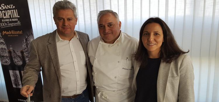 Narciso Romero, con Antonio Cosmen, presenta la Semana Gastronómica de Sanse