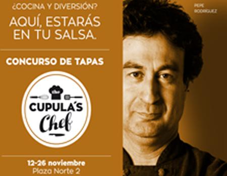 """El popular Pepe Rodríguez, de """"MasterChef """", en Plaza Norte con """"La Cúpula Chef"""""""