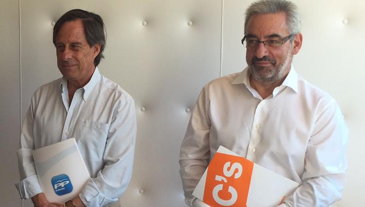 El alcalde de Alcobendas invita a Ciudadanos a entrar en el Gobierno