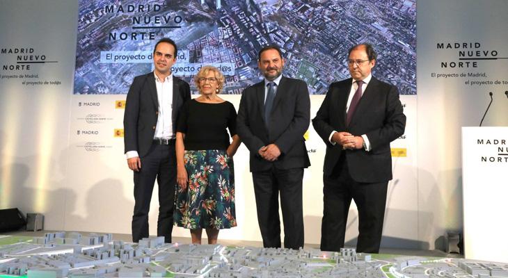 Presentada en el Palacio de Cibeles la propuesta final para desarrollar #MadridNuevoNorte