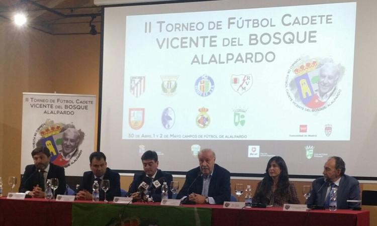 II Torneo de Fútbol Cadete Vicente del Bosque – Alalpardo