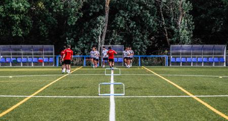 Algete acoge a la SSC Academy, una nueva escuela de fútbol con instalaciones deportivas de alto nivel