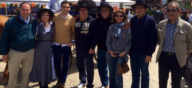 """""""Feria de Abril"""" en Las Tablas, con AAVV y el Concejal del Distrito Ignacio González de la Rosa"""