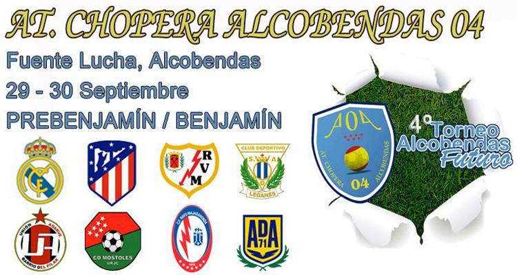 """IV Torneo """"Alcobendas Futuro"""" organizado por el At. Chopera Alcobendas 04"""