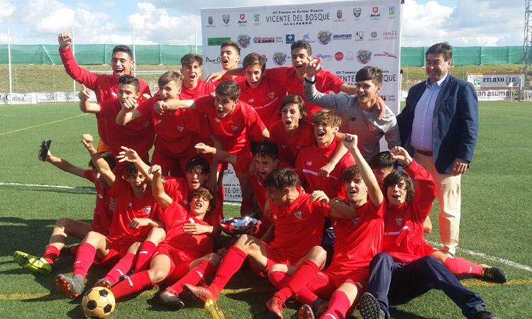 """Nuevo éxito del Torneo """"Vicente Del Bosque"""" de Alalpardo"""