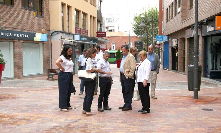 Nuevas aceras para el Distrito Centro de Alcobendas