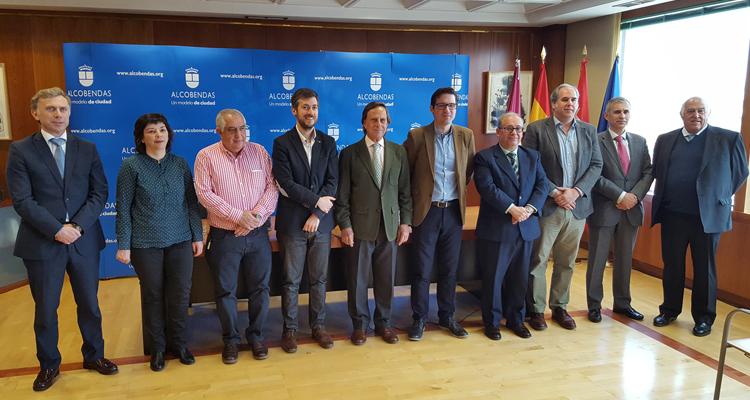 Alcobendas y la Comunidad de Madrid convenian por el Empleo