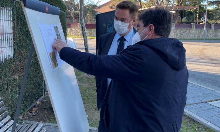 El vicepresidente Rollán en Alalpardo