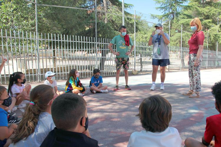 Más de un millar de niños participan en las Colonias de Verano de Alcobendas