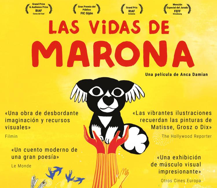 """Cine de Verano de Alcobendas: """"Las Vidas de Marona"""""""