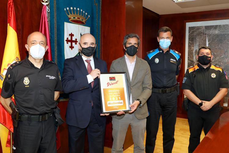 Alcobendas reconocida como una de las ciudades más seguras de España