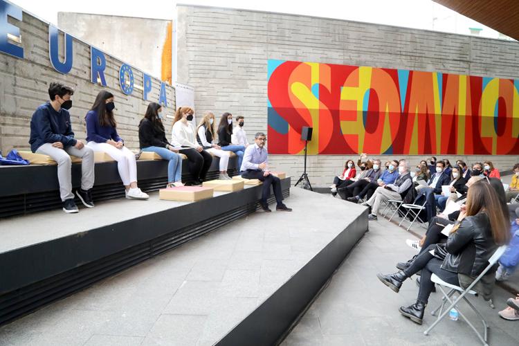 Alcobendas conmemora el Día de Europa leyendo la Declaración de Schuman en siete idiomas