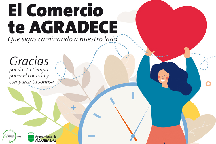 """El Ayuntamiento de Alcobendas lanza la campaña """"El comercio te agradece"""""""