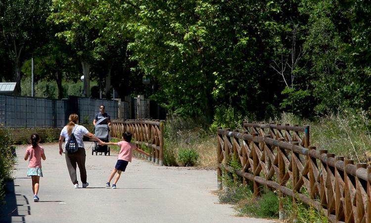 El Ayuntamiento de Alcobendas ha remodelado el Camino Escobares