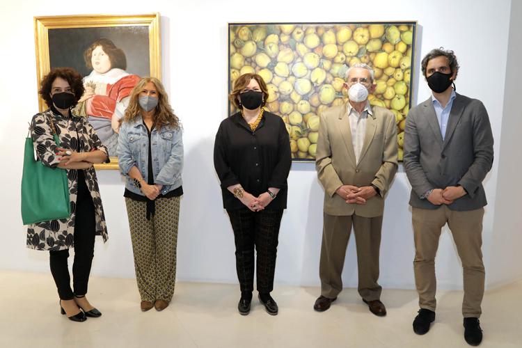 Inaugurada, en el Centro Cultural Anabel Segura de Alcobendas, la exposición del Pintor Local, Javier Larrumbide