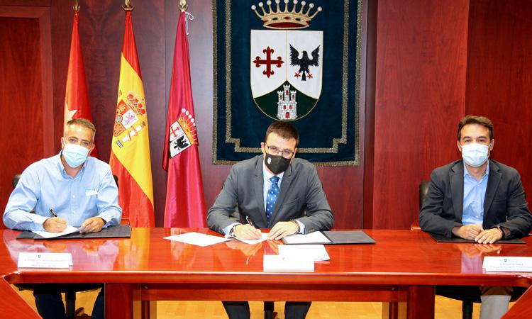 El Ayuntamiento de Alcobendas y la empresa Norte Sylcon firman un convenio para el fomento del empleo