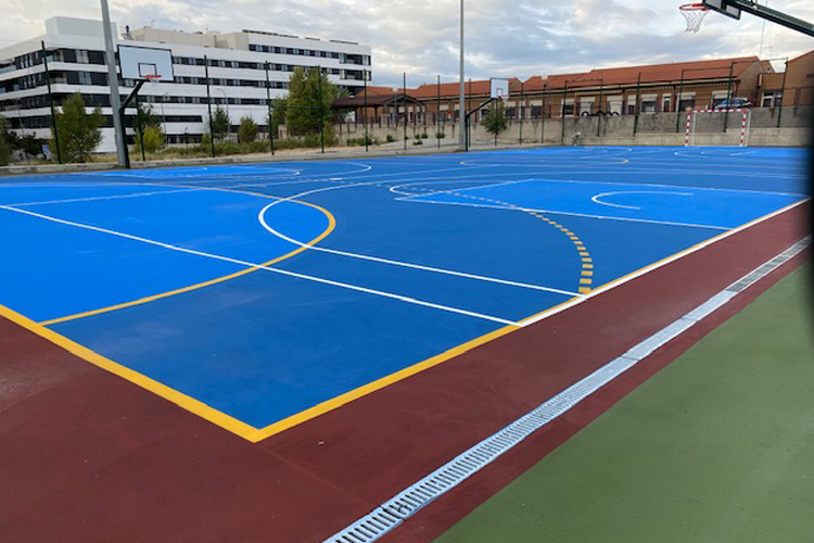 Este sábado, 25, abre la nueva pista polideportiva de Fuente Lucha en Alcobendas