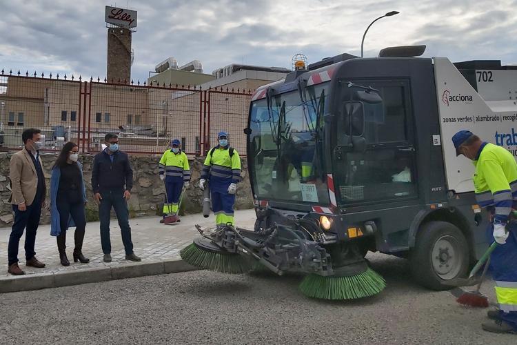 Alcobendas amplía las rutas y servicios de limpieza en el Polígono Industrial