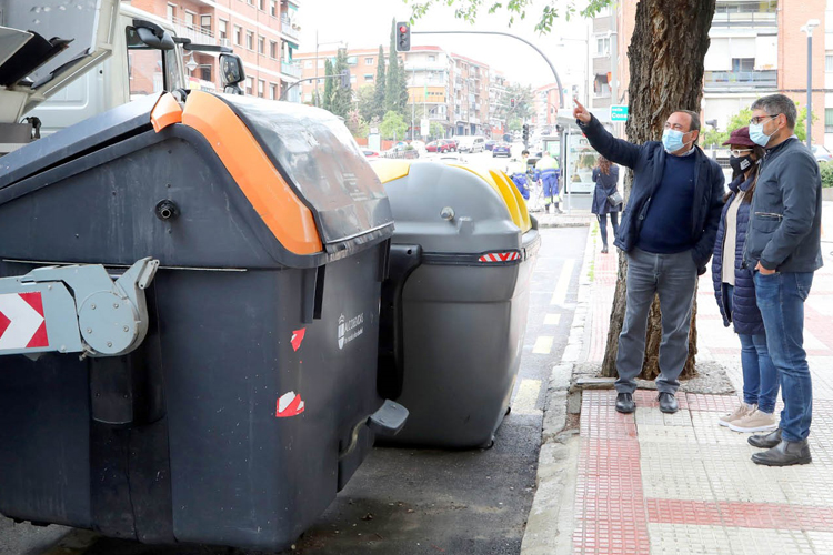 Alcobendas limpiará los 663 contenedores de residuos urbanos todos los meses