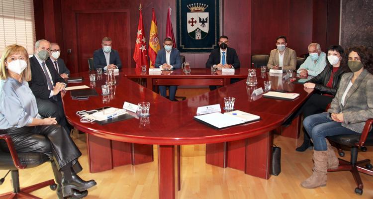 """Reunión del Consejo General del """"Pacto Local por el Empleo de Alcobendas"""""""