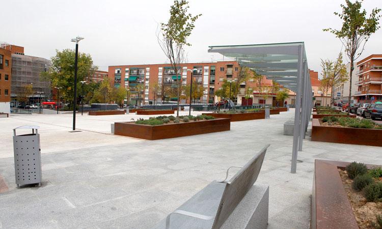 Alcobendas prepara la séptima área infantil en la Plaza de la Artesanía