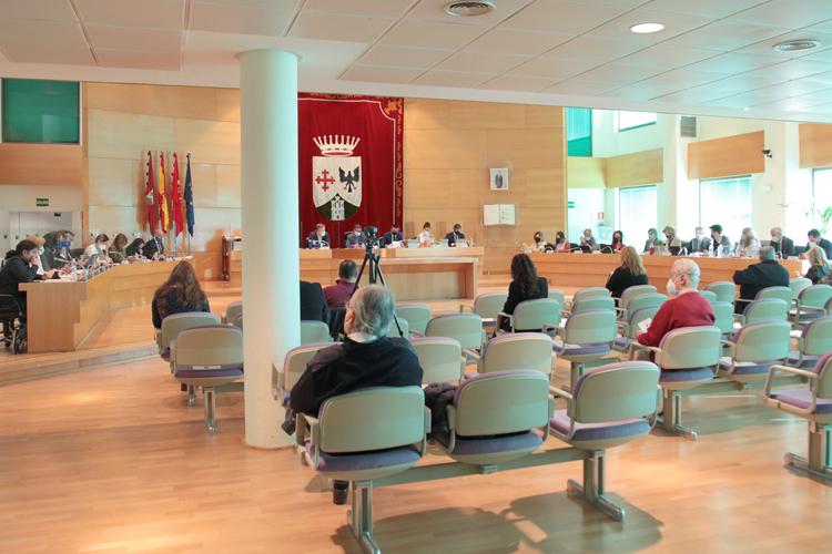 Sesión Ordinaria del Pleno del Ayuntamiento de Alcobendas correspondiente al mes de marzo