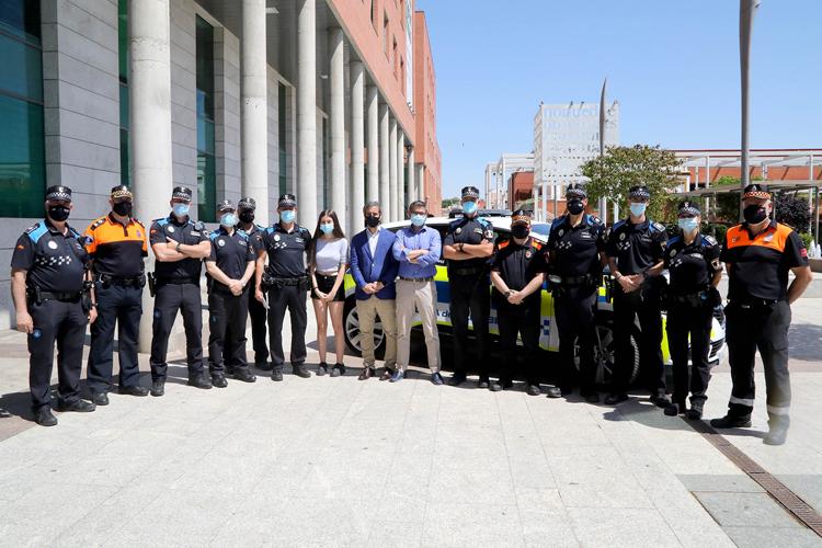 La Policía Local de Alcobendas, la primera de España en fomentar la Donación de Médula Ósea