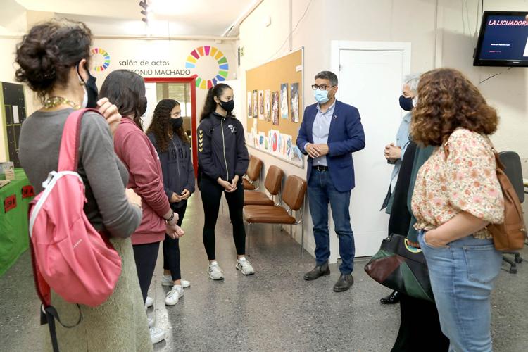 Escolares del Giner de los Ríos, premiados por un proyecto sobre calidad del aire