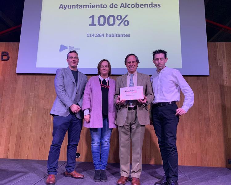 El Ayuntamiento de Alcobendas recibe el Sello Infoparticipa a la Calidad y la Transparencia