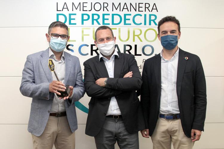 """Mobius Group hace entrega simbólica a la Ciudad de Alcobendas de su """"Premio Nacional de Tecnología XXI"""""""