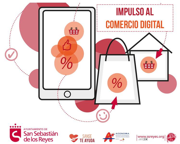 """El Ayuntamiento de San Sebastián de los Reyes y ACENOMA ponen en marcha el Plan de """"Impulso al Comercio Digital"""""""