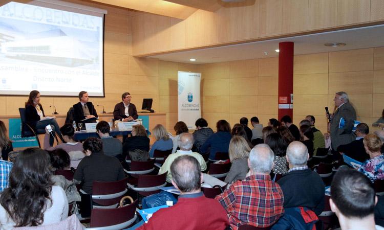 Éxito de participación en las Asambleas de Distrito de Alcobendas