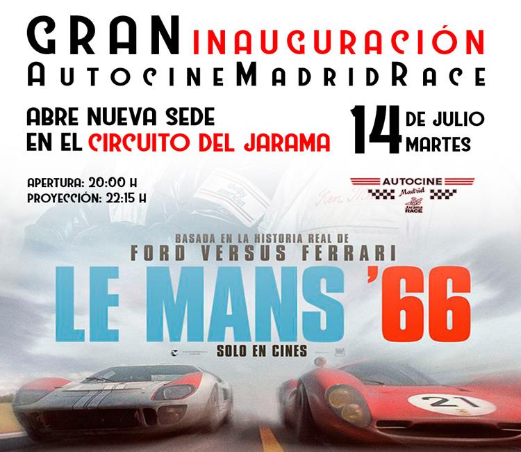 Autocine Madrid Race abre nueva sede en el Circuito del Jarama de Sanse
