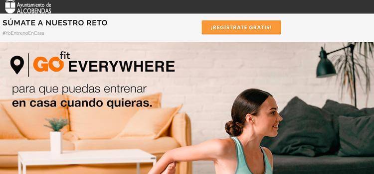 El Ayuntamiento de Alcobendas y los gimnasios GOfit ponen marcha una App gratuita para hacer ejercicio en casa