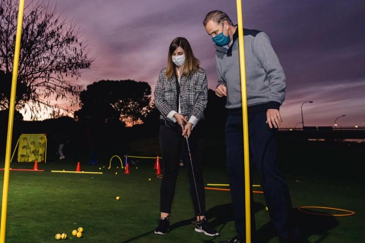 El Ayuntamiento de Madrid pone en marcha la primera Escuela Municipal de Golf en el Distrito de Barajas