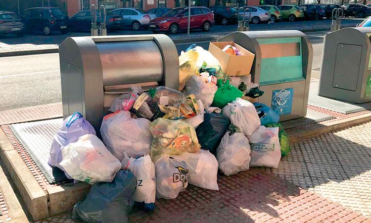 Alcobendas combate las infracciones en residuos urbanos
