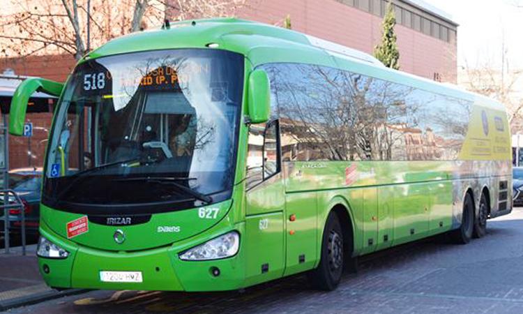 La Comunidad de Madrid pone a disposición de la UME su flota de autobuses