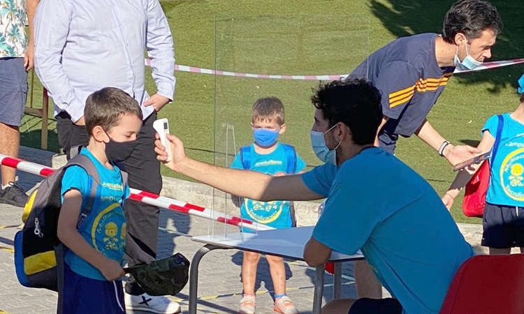 Los niños de Sanse ya están disfrutando de sus Campus de Verano