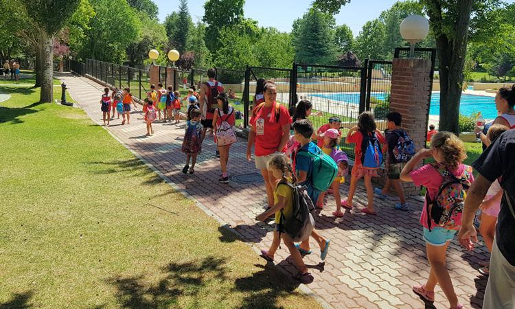6.000 niños de Sanse han disfrutado de los Campus de Verano 2018