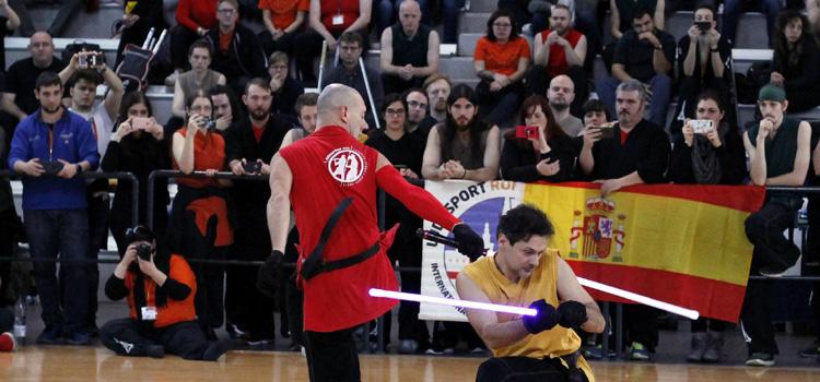Campeonato del Mundo de Lucha con Espada Láser en Alcobendas