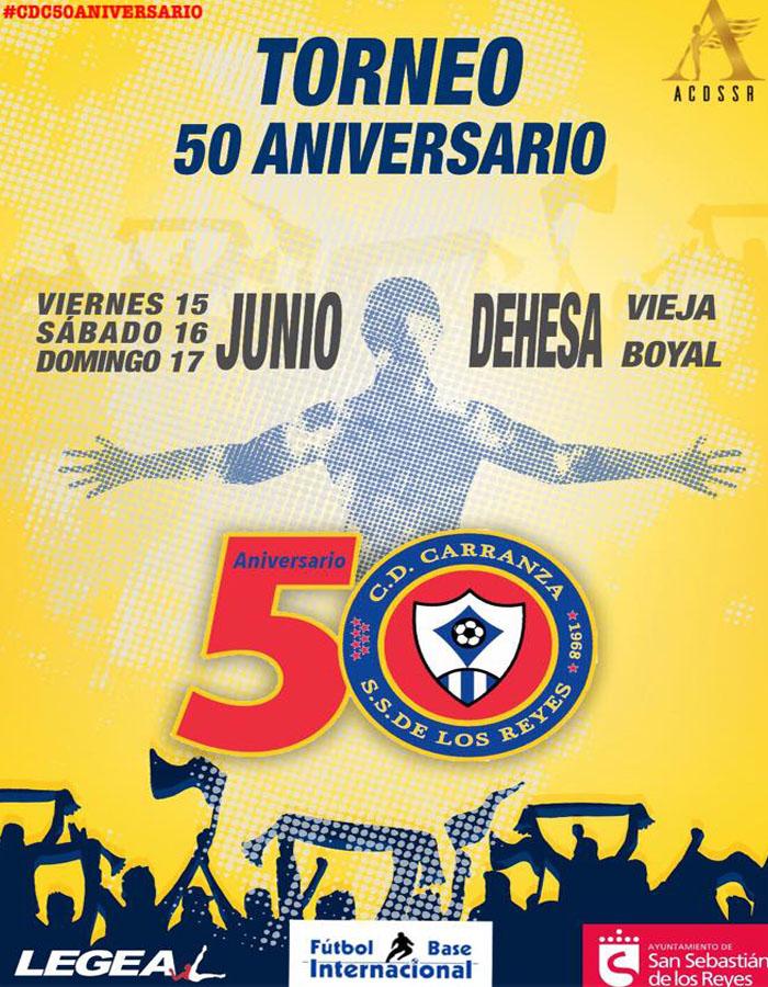 El C.D. Carranza celebra su 50º aniversario