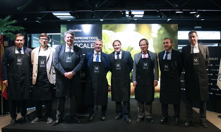 """Presentada la campaña """"Alimentos de Madrid"""", en Carrefour de Alcobendas"""