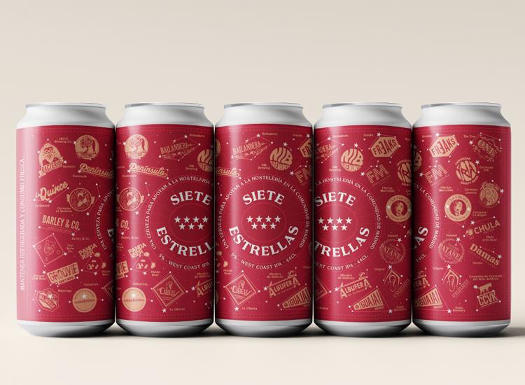 27 cerveceras artesanas de Madrid unen fuerzas para elaborar 5.000 litros de IPA en beneficio de la hostelería de la CAM